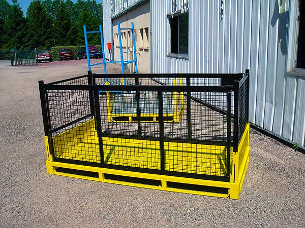 Conteneurs industriels fabrication sp cifiques et for Fabricant conteneur