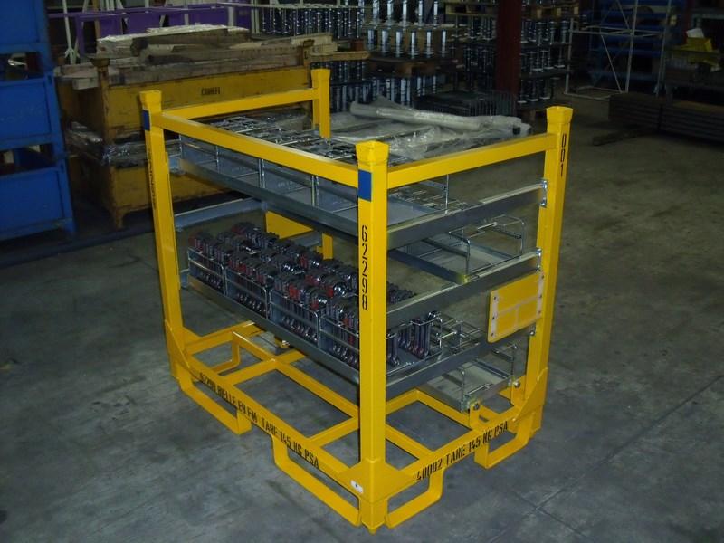 fabrication de conteneurs industriels