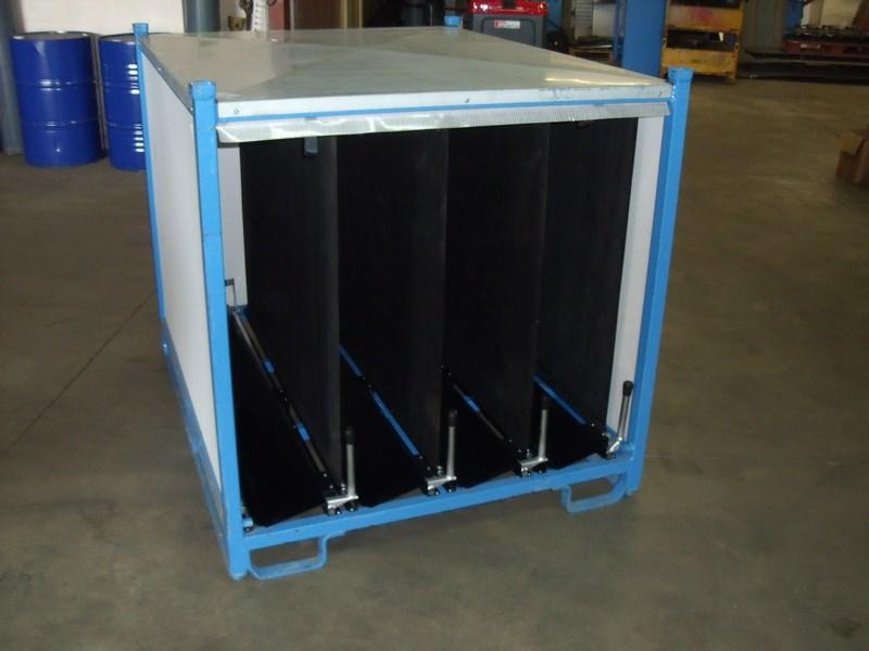 conception conteneur métallique