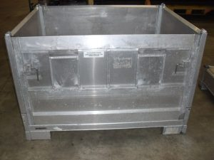 fabrication de conteneurs inox