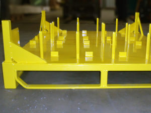 Fabrication de conteneur spécifique
